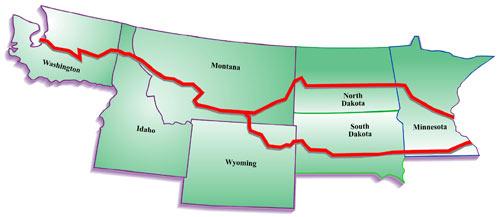 NWP   Corridor Map